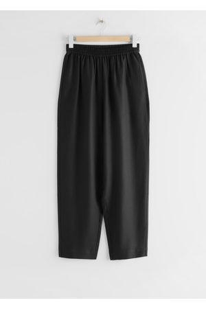 & OTHER STORIES Relaxed Lyocell Drawstring Trousers