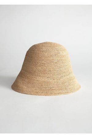 & OTHER STORIES Straw Bucket Hat