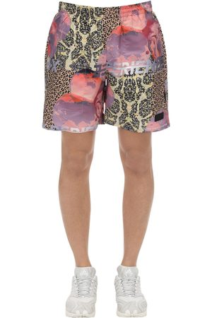 PAM PERKS AND MINI Lifestyle Animal Nylon Swim Shorts