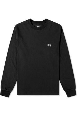 STUSSY Men Long Sleeve - Long Sleeve Stock Logo Tee