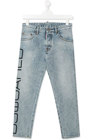 Dsquared2 TEEN printed skinny jeans