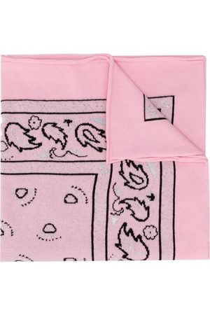 Barrie Women Hair Accessories - Paisley print bandana scarf