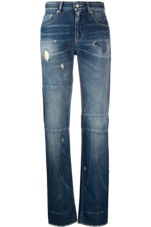 MM6 MAISON MARGIELA Distressed straight-leg jeans