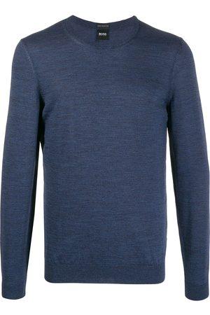 HUGO BOSS Men Long sleeves - Knitted long sleeve jumper