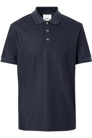 Burberry Men Polo Shirts - Piqué polo shirt