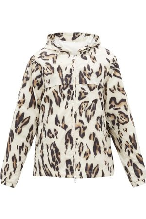 Moncler 1952 - Leopard-print Hooded Windbreaker Jacket - Mens