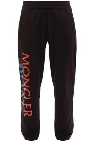 Moncler Men Sweatpants - X Awake Ny Applied-logo Cotton Track Pants - Mens