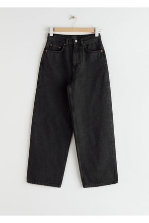 & OTHER STORIES High Rise Wide Leg Jeans