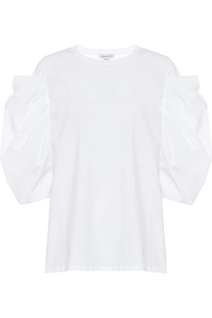 Alexander McQueen Women Short Sleeve - Cotton T-shirt