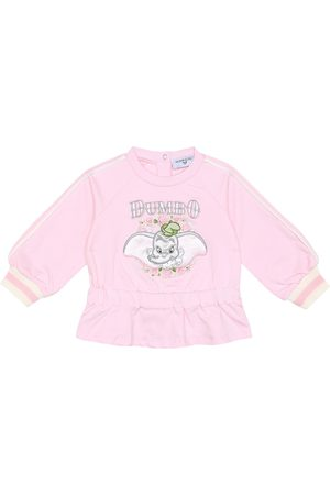 MONNALISA Baby stretch-cotton sweatshirt