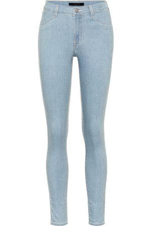 J Brand 925 mid-rise skinny denim leggings