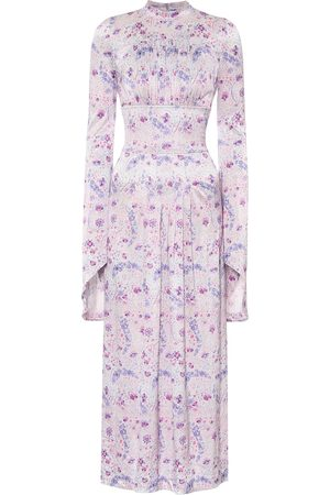 Paco rabanne Exclusive to Mytheresa – Floral stretch-jersey dress