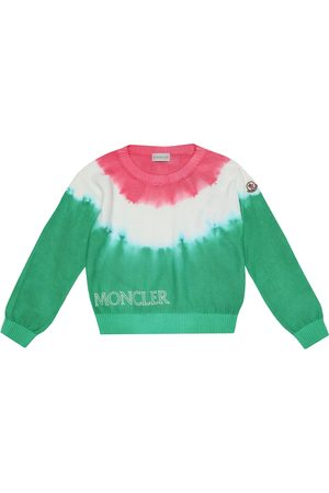 Moncler Tie-dye cotton sweater
