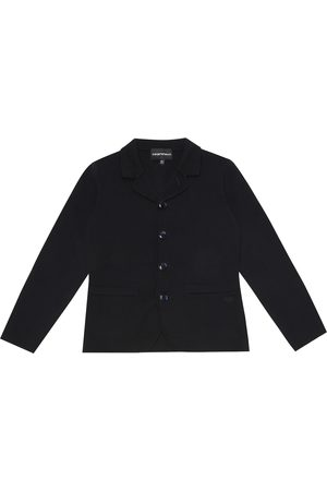 Emporio Armani Cotton knit jacket