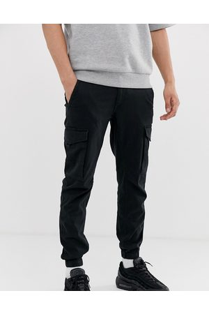 Jack & Jones Men Cargo Pants - Intelligence cuffed cargo pants in
