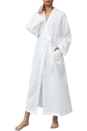 The White Company Women's Long Lightweight Waffle Robe