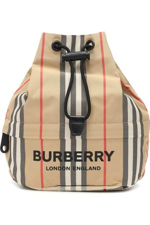 Burberry Phoebe Check drawstring pouch
