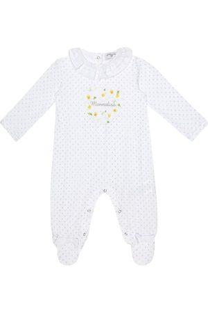 MONNALISA Baby printed cotton onesie
