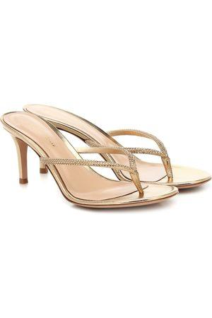 Gianvito Rossi India 70 patent-leather sandals