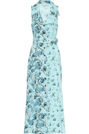 Peter Pilotto Floral jacquard midi dress