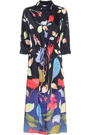 Peter Pilotto Floral twill shirt dress