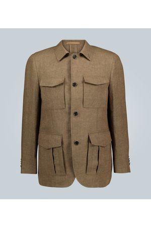 CARUSO Linen sport blazer