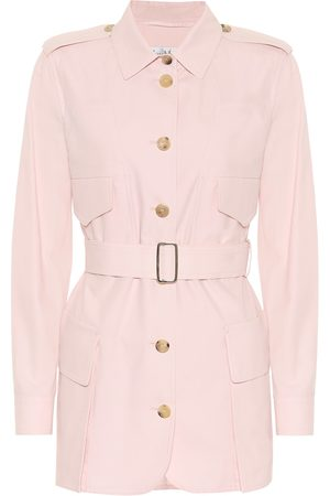 Max Mara Orfeo cotton twill safari jacket
