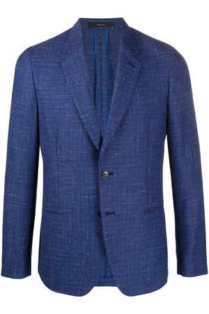 Paul Smith Men Blazers - Textured single breasted blazer