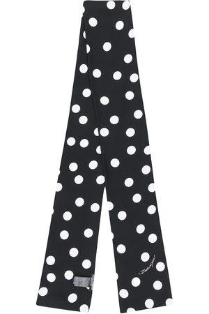 Dolce & Gabbana Men Scarves - Polka dot print stole - N0004
