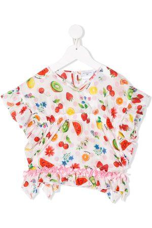 MONNALISA Fruit-print blouse