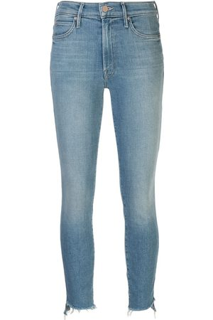 Mother Women High Waisted - Stunner high-rise skinny jeans
