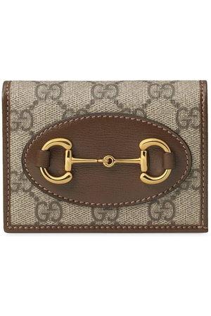Gucci 1955 Horsebit card case - Neutrals