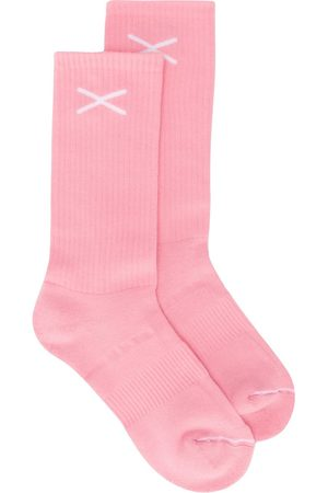 Barrie Socks - Cashmere logo socks