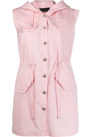 Mr & Mrs Italy Women Dresses - Multi-pocket hooded dress