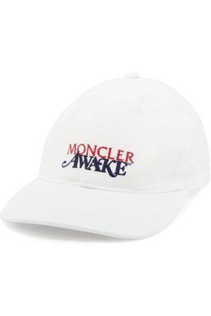 Moncler Men Caps - 1952 - X Awake Ny Logo-embroidered Baseball Cap - Mens