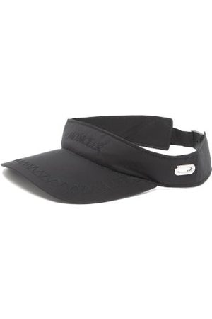 Moncler Men Caps - Logo-embroidered Ripstop Visor - Mens