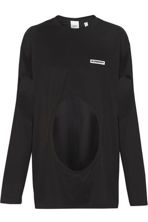 Burberry Women High Necks - Long sleeves asymetric top