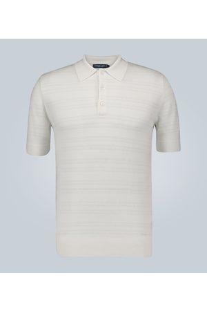 Frescobol Carioca Merino wool perforated polo shirt