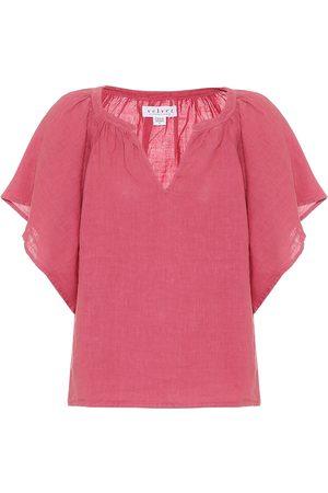 Velvet Kalila linen blouse