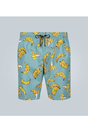 Dolce & Gabbana Banana printed swim shorts