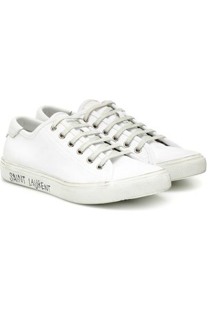 Saint Laurent Malibu leather sneakers