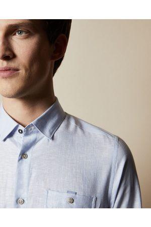 Ted Baker Men Casual - Linen Shirt