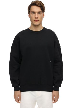 AMBUSH Logo Embroidered Cotton Sweatshirt