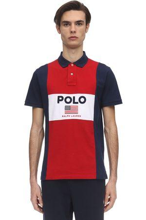 Polo Ralph Lauren Color Block Cotton Piquet Polo Shirt