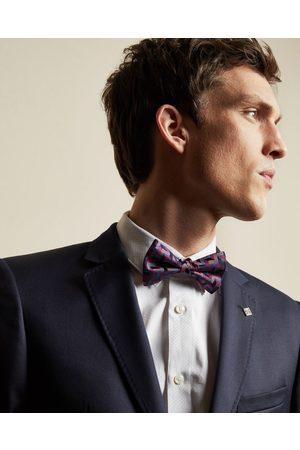 Ted Baker Men Bow Ties - Geo Print Silk Bow Tie