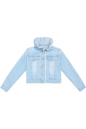 Il gufo Stretch-denim jacket