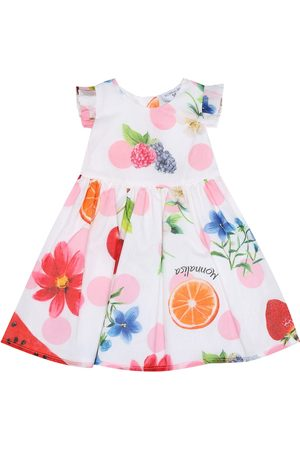 MONNALISA Baby printed cotton dress