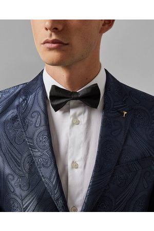 Ted Baker Plain Silk Bow Tie