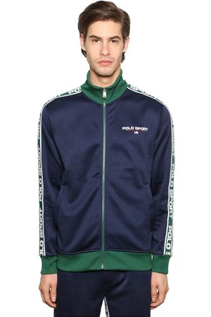 Polo Ralph Lauren Logo Zip-up Techno Sweatshirt