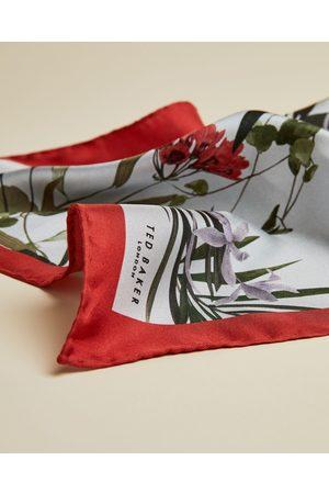 Ted Baker Men Pocket Squares - Silk Floral Pocket Square